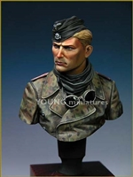 YM1806 - SS Panzer Crew WWII, 1/9 scale bust