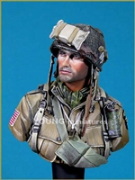 YM1807 - 101st Airborne Division Normandy 1944, 1/9 scale bust