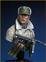 YM1809 - Totenkopf Division WWII, resin 1/9 scale bust