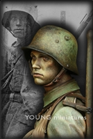 YM1820 - Stormtrooper - Battle of Somme 1916, 1/9 scale bust