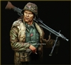 YM1822 - Waffen SS MG-42 Gunner Ardennes 1944 , 1/9 scale bust