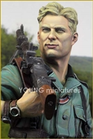 YM1829 - German MG34 Gunner 1941, resin 1/9 scale bust