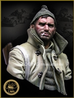 British LRDG, 1942, North Africa, 1/10 Scale Resin Bust