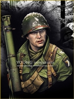 YM1855 - Easy Company - Bastogne 1944, resin 1/9 scale bust