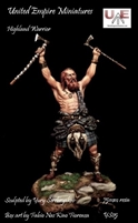 Highland Warrior, 75mm Resin Figure