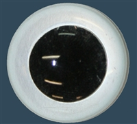 Blank - Glass Eyes - Round Pupil (Unpainted)