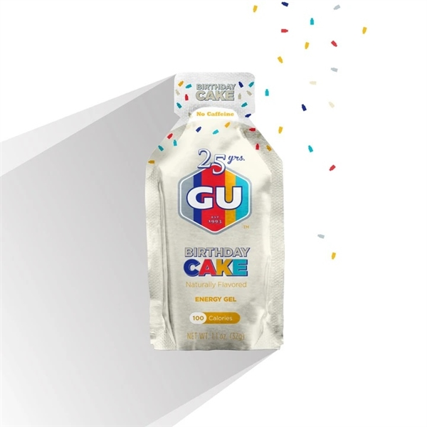 GU BIRTHDAY CAKE Energy Gels