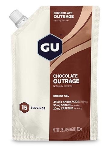 GU CHOCOLATE OUTRAGE Energy Gel 15 Servings