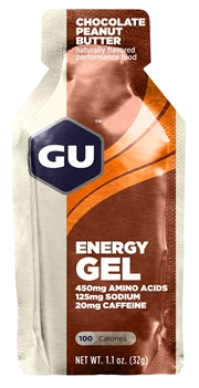 GU CHOCOLATE PEANUT BUTTER Energy Gels