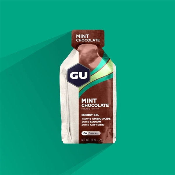 GU MINT CHOCOLATE Energy Gels