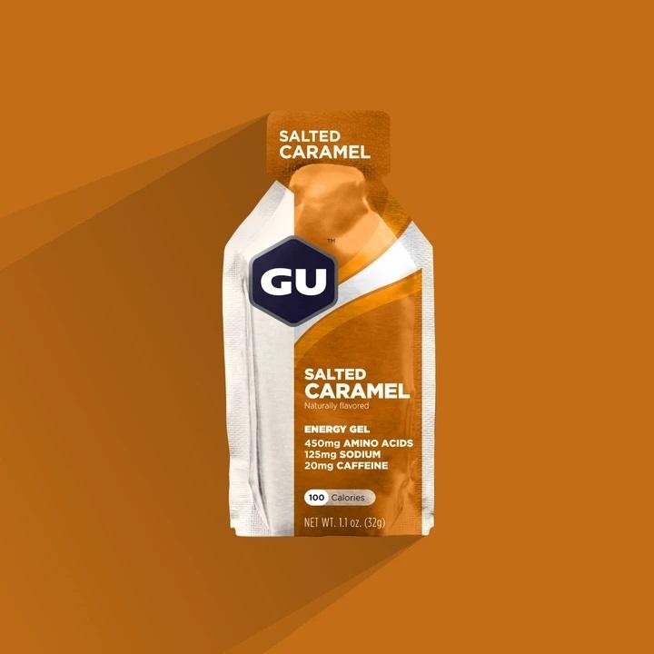 GU SALTED CARAMEL Energy Gels  c1fa3bc6d