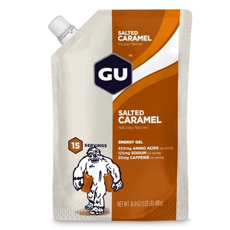 GU SALTED CARAMEL Energy Gel 15 Servings