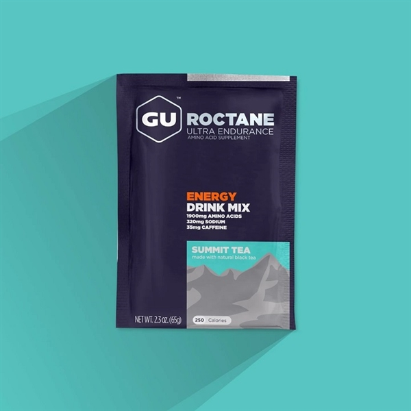 GU Roctane Summit Tea Energy Drink Mix Sachets