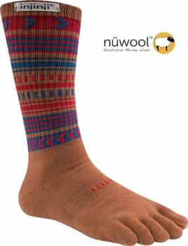 Injinji Performance 2.0 OUTDOOR Socks - Original Weight / Crew NuWool