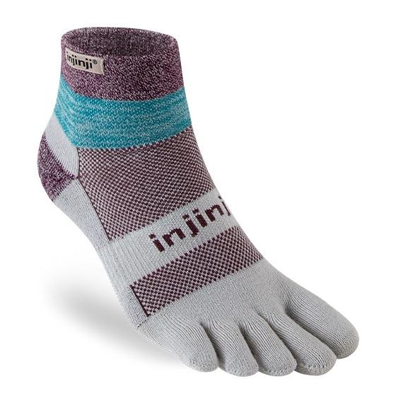 Amazon.com : Injinji Run Lightweight Mini-Crew Socks ...
