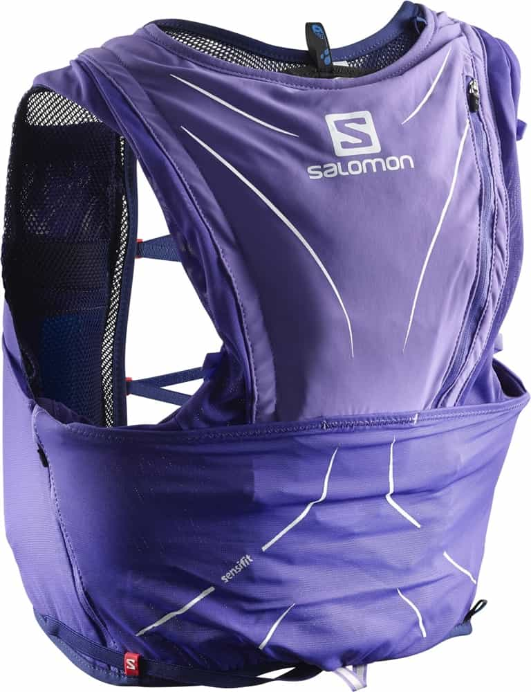 Salomon Unisex ADV Skin 12 Set Running Backpack Purple