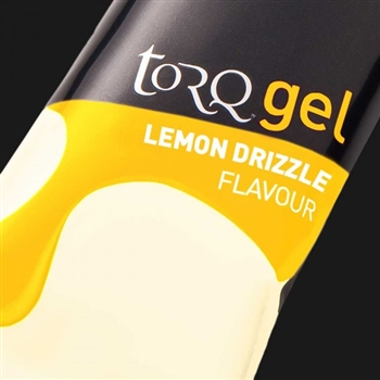 Torq Energy Gels : LEMON DRIZZLE