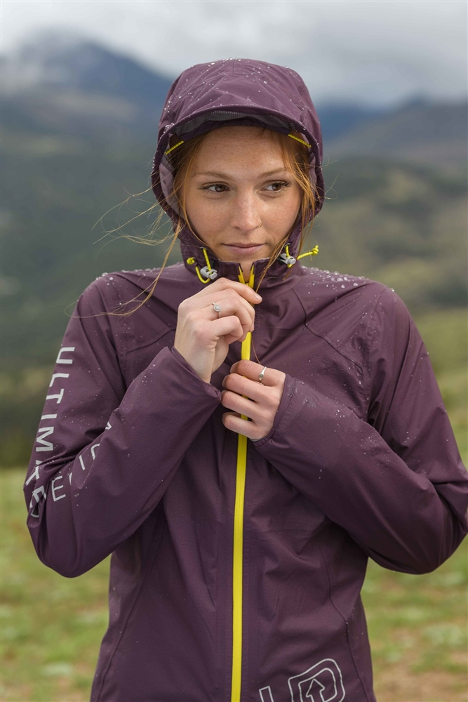 Women's Ultimate Direction ULTRA JACKET V2 Waterproof Running ...