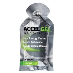 Accel Gel 4:1 Protein Energy Gels : KEY LIME
