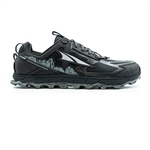 Mens Altra Running LONE PEAK 4.5 LOW zero-drop trail running shoes - Black