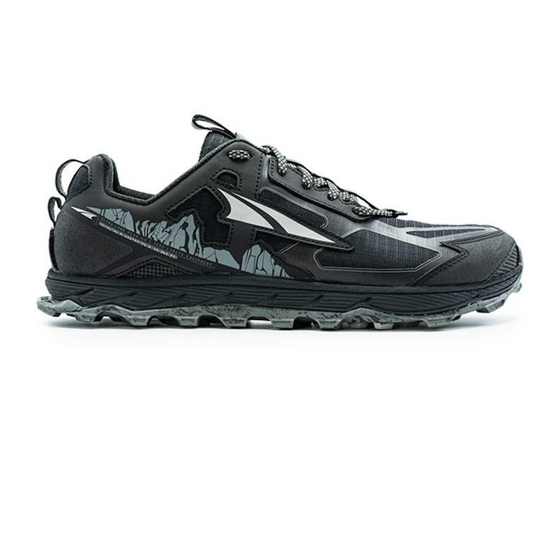 Men S Altra Lone Peak 4 5 Low Black Ultramarathon Running Store
