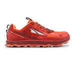 Womens Altra Running LONE PEAK 4.5 LOW zero-drop trail running shoes - Poppy
