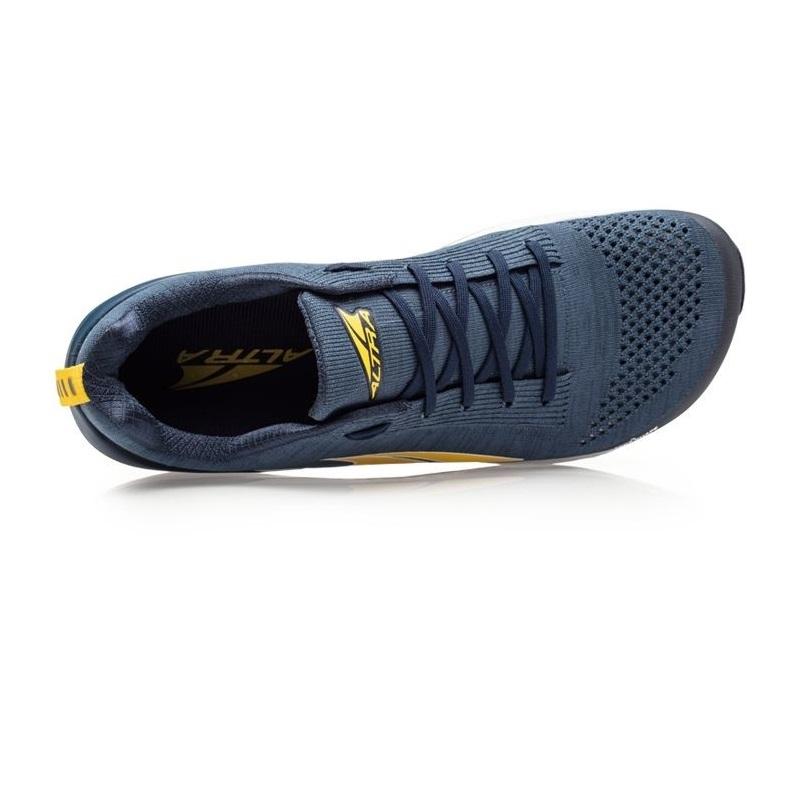 Men S Altra Paradigm 4 5 Blue Yellow Ultramarathon Running Store