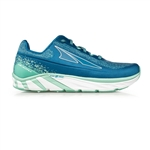 Womens Altra Running TORIN 4 PLUSH zero-drop road running shoes - Blue / Green