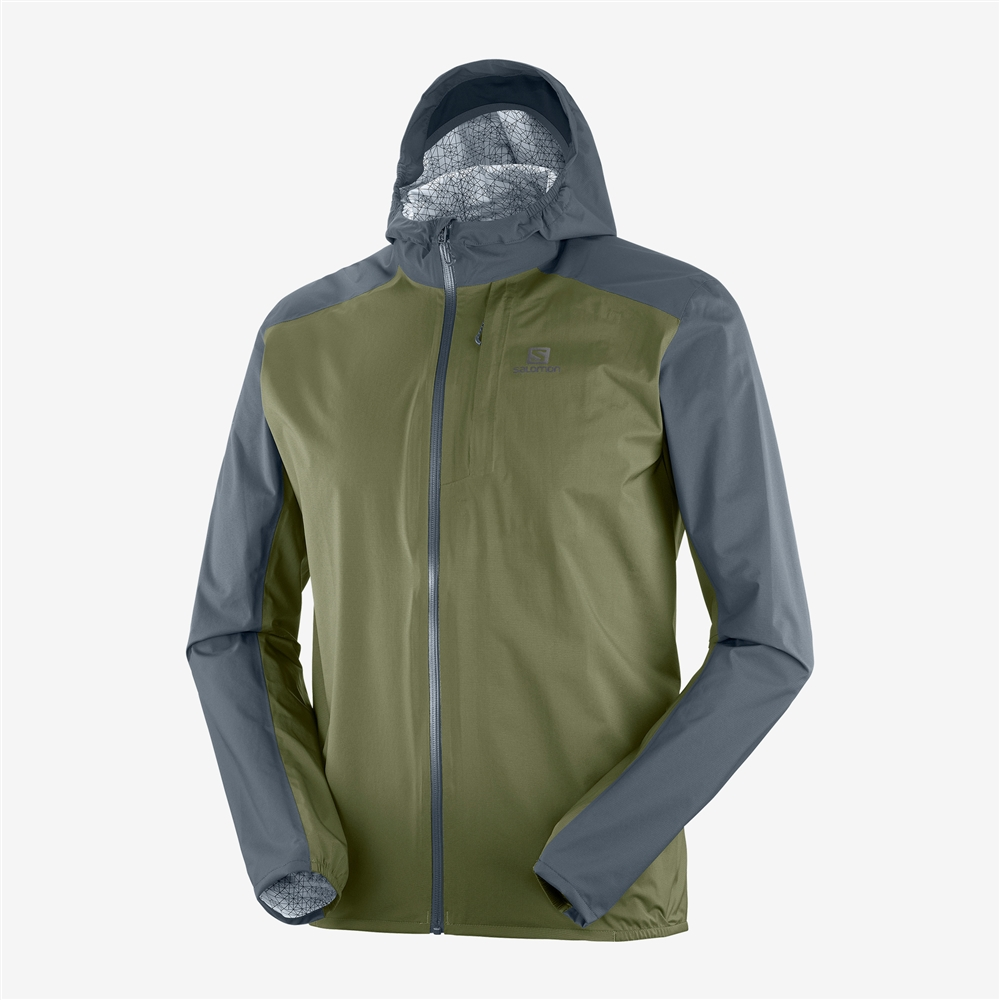 8e7b09fe2021 Men s Salomon BONATTI WP Waterproof Running Jacket