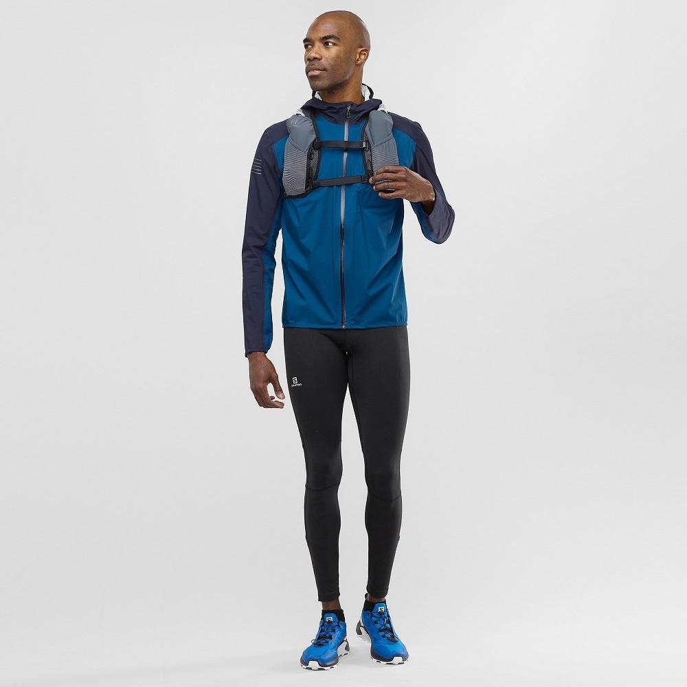 Men's Salomon BONATTI WP Waterproof Running Jacket | Ultramarathon ...