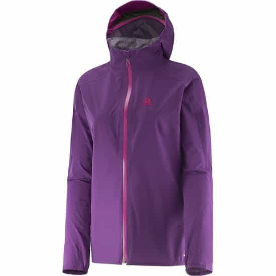 Women's Salomon BONATTI WP Waterproof Running Jacket ...