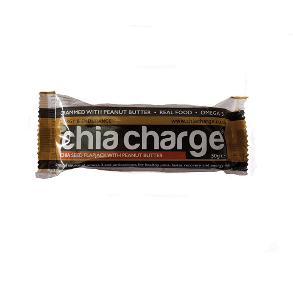 Chia Seed Flapjack Bars: PEANUT BUTTER