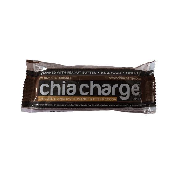 Chia Seed Flapjack Bars: COCOA PEANUT BUTTER