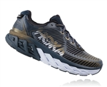 Mens Hoka ARAHI Road Running Shoes - Midnight Navy / Metallic Gold