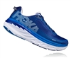 Mens Hoka BONDI 5 Road Running Shoes - Blueprint / White