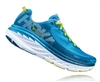 Mens Hoka BONDI 5 Road Running Shoes - Niagara / Midnight