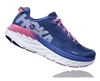 Womens Hoka BONDI 5 Road Running Shoes - Blueprint / Surf The Web