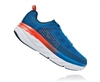 Mens Hoka BONDI 6 Road Running Shoes - Black Iris / Storm Blue