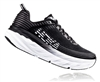 Mens Hoka BONDI 6 Road Running Shoes - Black / Black