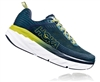 Mens Hoka BONDI 6 Road Running Shoes - Vapor Blue / Frost Gray