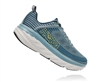 Mens Hoka BONDI 6 Road Running Shoes - Lead / Majolica Blue