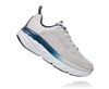 Womens Hoka BONDI 6 WIDE Road Running Shoes - Vapor Blue / Wrought Iron