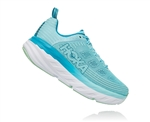 Womens Hoka BONDI 6 Road Running Shoes - Antigua Sand / Caribbean Sea