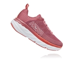 Womens Hoka BONDI 6 Road Running Shoes - Vapor Blue / Wrought Iron