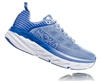 Womens Hoka BONDI 6 Road Running Shoes - Mood Indigo / Dusty Pink
