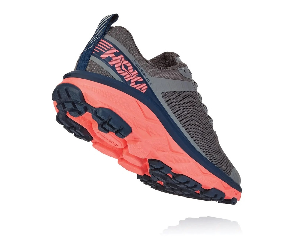 8b6371f3d0 Women's Hoka CHALLENGER ATR 5 Trail Running Shoes - Ebony / Very ...