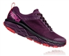 Womens Hoka CHALLENGER ATR 5 Trail Running Shoes - Italian Plum / Poppy Red