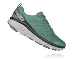 Mens Hoka CHALLENGER ATR 5 WIDE Trail Running Shoes - Myrtle / Charcoal Gray