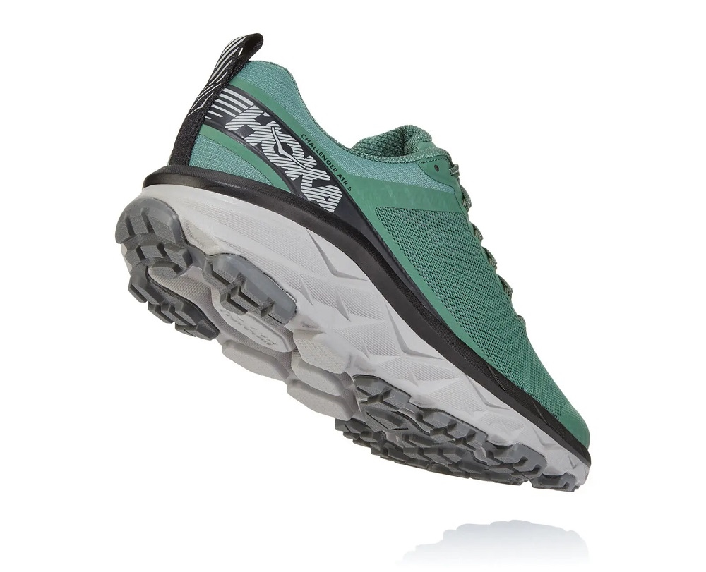 5eb2631a63f7 Men s Hoka CHALLENGER ATR 5 WIDE Trail Running Shoes - Ebony   Black ...