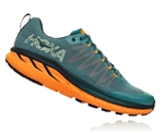 Mens Hoka CHALLENGER ATR 4 Trail Running Shoes - Storm Blue / Black Iris